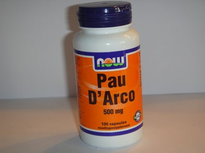 Pau D''Arco 500 mg 100 capsules