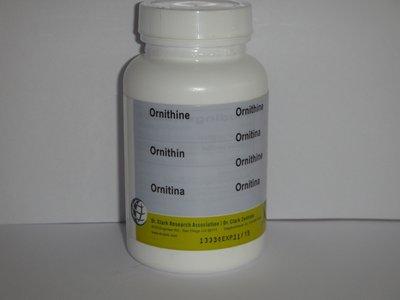 Ornitine 100 caps. 500 mg.