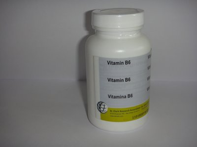 Vitamine B6 100 caps. 250 mg.