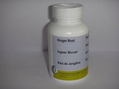 Gingerroot (gemberwortel) 100 caps. 500 mg.