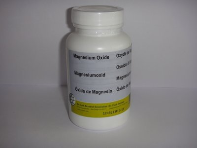 Magnesium Oxide 100 caps. 300 mg.